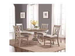 Plymouth Cottage Table And Chair Set With Pedestal Table By Flexsteel  Wynwood Collection At Sheely's Furniture & Appliance