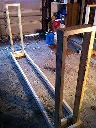 Cord Wood Storage Rack Plans by Vermonter Tip 142 Diy Wood Rack Manganlabs Com