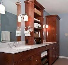 bathroom linen tower foter