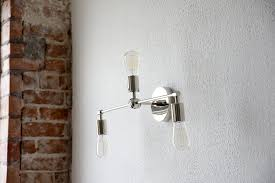 Mid Century Modern Bathroom Vanity Light by Free Shipping Wall Sconce Bathroom Vanity Chrome Polished Nickel