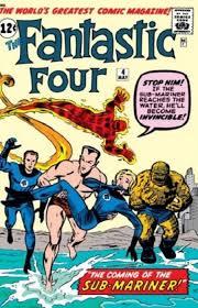 Marvel Comicss Fantastic Four Issue 4
