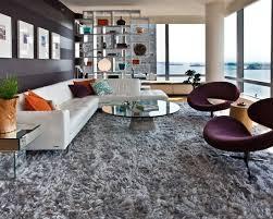 hochflor shaggy teppich 120 ideen für wohnzimmer einrichtung