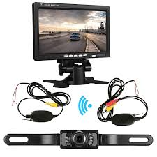 ZSMJ Backup Camera Wireless And 7'' Display Monitor Kit 9V-24V Rear ... Chevrolet And Gmc Multicamera System For Factory Lcd Screen 5 Inch Gps Wireless Backup Camera Parking Sensor Monitor Rv Truck Backup Camera Monitor Kit For Busucksemitrailerbox Ebay Cheap Rearview Find Deals On Pyle Plcm39frv On The Road Cameras Dash Cams Builtin Ir Night Vision Rear View Back Up Amazoncom Cisno 7 Tft Car And Mirror Carvehicletruck Hd 1920 New Update Digital Yuwei System 43