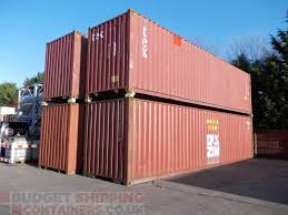 104 40 Foot Shipping Container Ft High Cube S Used