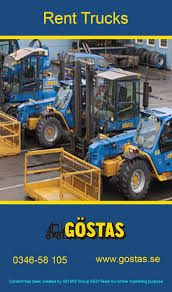Gostas Truckar Is The Only Company In Goteborg, Sweden That Provides ...
