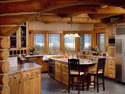 Log Cabin Kitchen Decorating Ideas by Great Log Cabin Kitchen Ideas Pertaining To House Decorating Ideas