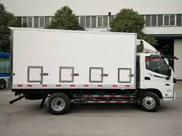 China Foton Small 10 Tons Refrigerator Truck For Live Baby Chicken ...