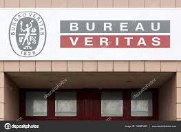 logo bureau veritas certification bureau veritas logo on a wall stock editorial photo ricochet69