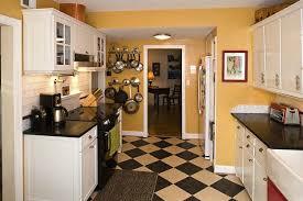 s cheery cape cod kitchen checkerboard floor kitchens