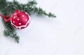 Christmas Decoration Cupcake Hanging On Fir Tree Over Green Background Selective FocusDecoration