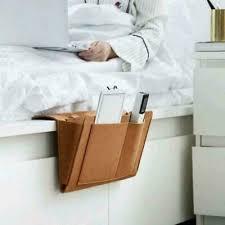 bett aufbewahrungstasche tasche filz bett hängen schlafzimmer sofa tisch or f8p8