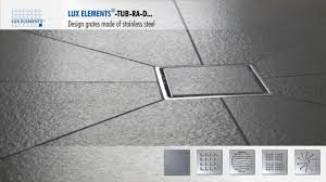 elements product design grates made of stainless steel