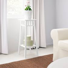 lantliv blumenständer weiß 78 cm