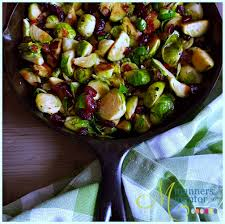 Holiday Side Dish Recipes Brussels Sprouts Recipe Bacon Pancetta Cranberries Manners Mentor