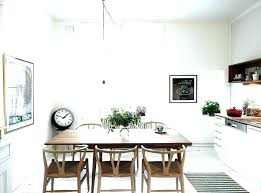 Dining Room Clock Wall Clocks Good Looking Non Ticking With Big