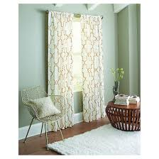 dot lattice curtain panel threshold target