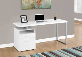 bureau ordinateur blanc spec designs by monarch specialties bethesda bureau à ordinateur