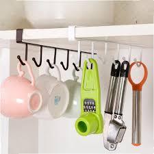 metall schranktür schublade haken kleiderbügel handtuchhalter organizer für küche storage zubehör bad regale