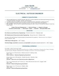 Design Engineer Resume Sample Electronics Electrical Template