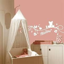 sticker chambre bébé fille daclicieux stickers muraux chambre bebe pas cher 11 deco chambre