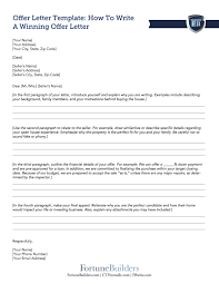 Click The Image Below To Download Offer Letter Template Which Provides A Professional Layout And Will Help You Brainstorm Talking Points For When