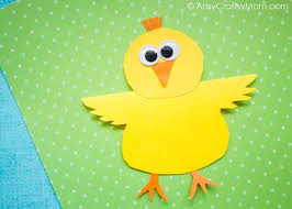 Adorable And Cute Tweety Birds Made With Yellow Colored Paper