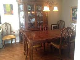 Mahogany Dining Room Set Late