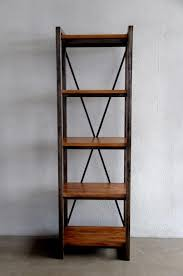 creative design narrow metal bookcase tall ikea doherty house black and wood bookcases 1024x1542