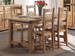 table salle a manger chene table à manger ronde trendsetter