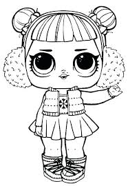 Lol Dolls Coloring Pages Bonbon