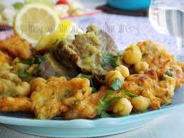 cuisine chou beignets de chou fleur sauce blanche cuisine algéroise le
