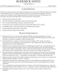 Telecom Project Manager Resume Sample 3 Engineering Samples Examples