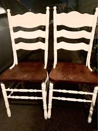 SALE Two Ladder Back Wooden Dining Chairs . Priced For Custom | Etsy Milk Painted Ladder Back Chair How To Make A Home Diy On Blackpainted Ladderback Armchair Sale Number 2669m Lot Allweather Porch Rocker Antique Ladder Back Chair Burgundy Paint Newly Woven Etsy Weave Seats With Paracord 8 Steps With Pictures Fiftythree Quick Makeover Living Accents 1 Brown Steel Prescott Ace Hdware 1890 Shaker 6 Mushroom Capped Shawl Bar At Indoor Wooden Rocking Chairs Cracker Barrel Living A Cottage Life Repurposed Life 10 Ideas You Didnt Know Need Vintage 1970s In Leith Walk Edinburgh