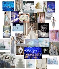 Wedding Design Inspiration Winter Wonderland Color Palette Of Silvers Whites And Icy Blues