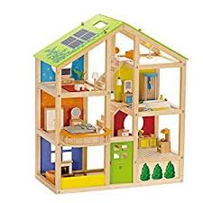 Hape Kitchen Set India by Buy Hape Wooden All Season House Furnished Online At Low Prices In