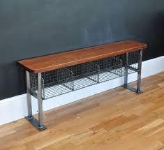 Vintage School Storage Bench Bring It Home