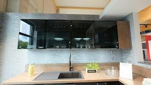 nobilia küchenzeile l form küche touch schwarz matt