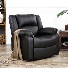 Details About Classic Bonded Leather Oversize Padding Recliner Chair TV  Room Theater, Black Modern Faux Leather Recliner Adjustable Cushion Footrest The Ultimate Recliner That Has A Stylish Contemporary Tlr72p0 Homall Single Chair Padded Seat Black Pu Comfortable Chair Leather Armchair Hot Item Cinema Real Electric Recling Theater Sofa C01 Power Recliners Pulaski Home Theatre Valencia Seating Verona Living Room Modernbn Fniture Swivel Home Theatre Room Recliners Stock Photo 115214862 4 Piece Tuoze Fabric Ergonomic