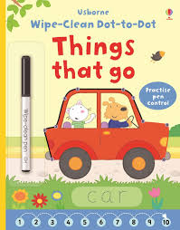 100 Cars And Trucks And Things That Go Wipeclean Dottodot Things That Go At Usborne Childrens Books