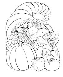 Harvest Coloring Pages Free Fall Pictures Pioneering