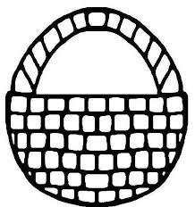 Easter Basket Coloring Page Printables