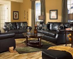 Black Furniture Living Room Decorating Ideas Design