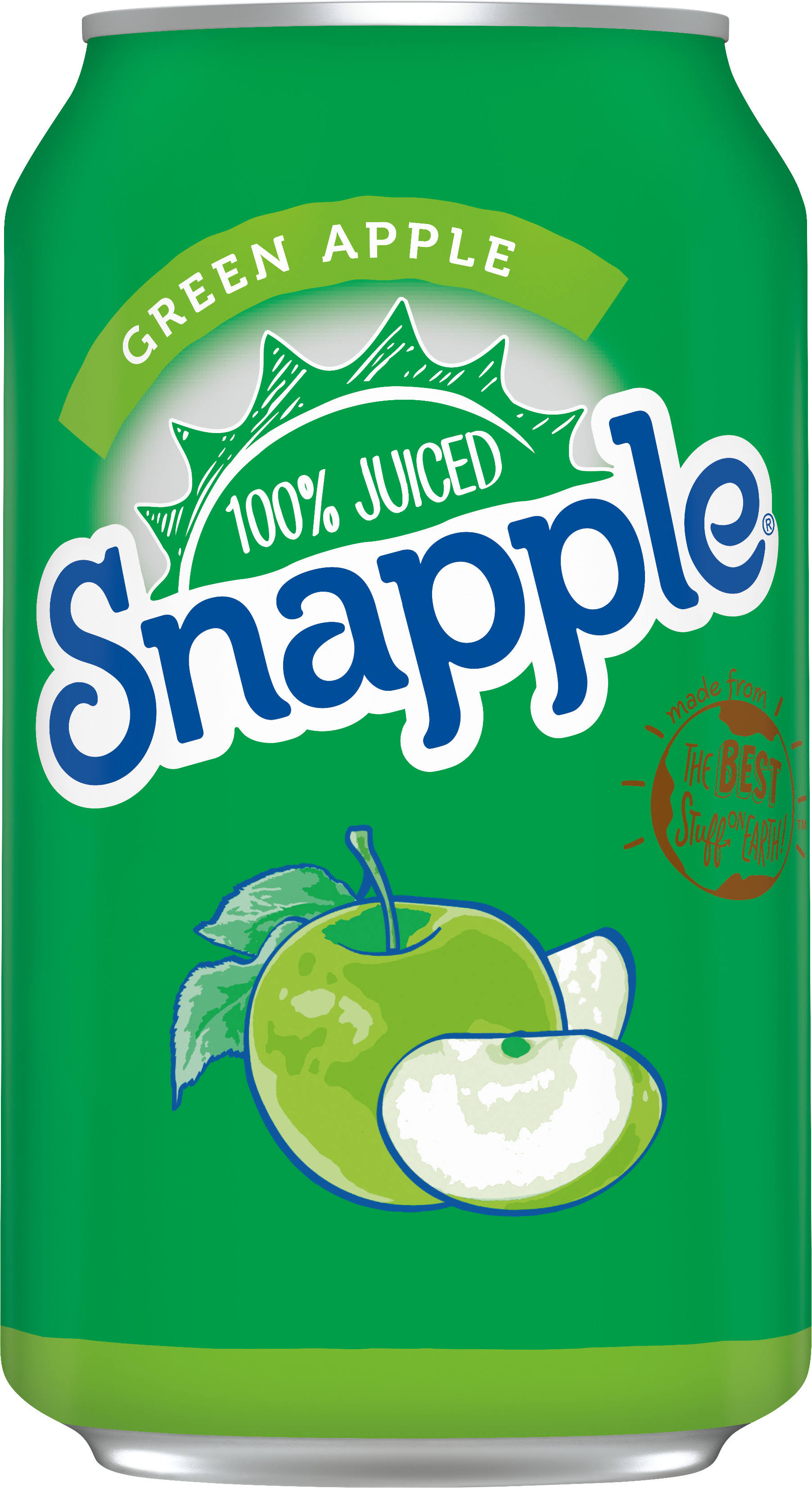 Snapple Juice Blend Can - Green Apple