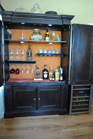 armoire turned into a bar for the home pinterest armoires