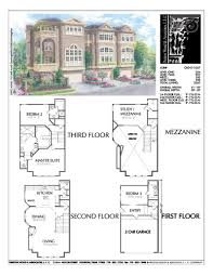 100 Townhouse Design Plans Townhomes New S Luxury Brownstone Floor
