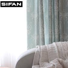 blau gedruckt gardinen für das schlafzimmer phantasie kinder moderne vorhänge für wohnzimmer kinder