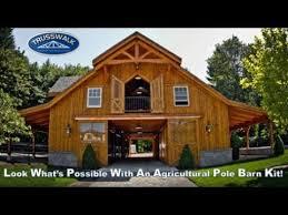 Trusswalk Agricultural Pole Barn Kits