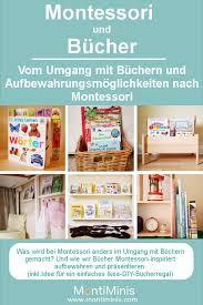 montessori und bücher vom umgang mit büchern und