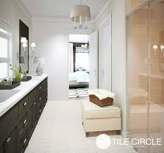 a crema marfil marble master suite in greenwich ct tile circle