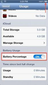 How To Enable Battery Percentage Your iPod Touch